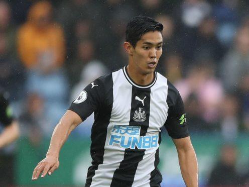 Japan international striker Yoshinori Muto has left Newcastle by mutual consent (Nick Potts/PA)