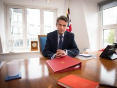 Education Secretary Gavin Williamson urged parents to make sure their children are tested regularly for coronavirus, and warned youngsters not to get 'carried away' when schools return (Stefan Rousseau/PA)