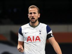 Pep Guardiola has confirmed Manchester City are interested in signing Tottenham's Harry Kane (Adam Davy/PA)