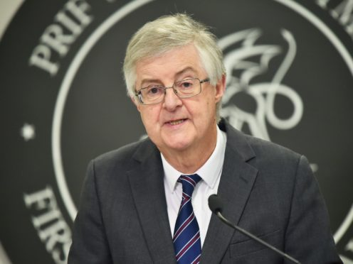 Mark Drakeford announced a major loosening of restrictions (Ben Birchall/PA)