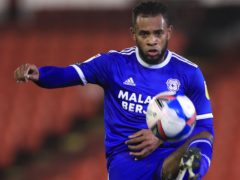 Leandro Bacuna opened the scoring for Cardiff (Mike Egerton/PA)