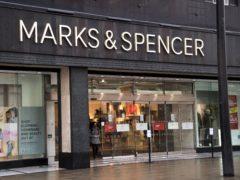 M&S said it is set to surpass profit targets (Ian West/PA)