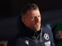 Millwall manager Gary Rowett is hoping for an injury boost after the international break (Zac Goodwin/PA)