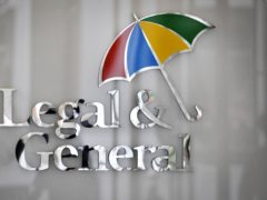 Legal & General has hiked its shareholder dividend payout as it saw half-year earnings rebound back above £1 billion (PA)