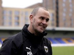 AFC Wimbledon manager Mark Robinson saw his side fight back to win (Steven Paston/PA)