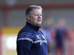 Crawley manager John Yems is hopeful of picking up his first win of the the campaign (Steven Paston/PA)