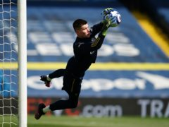Illan Meslier has committed his long-term future to Leeds (Jon Super/PA)
