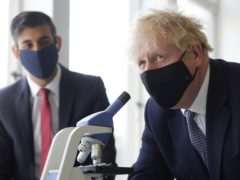 Prime Minister Boris Johnson and Chancellor of the Exchequer Rishi Sunak (Dan Kitwood/PA)