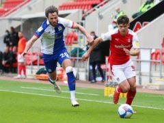 Ben Brereton scored Blackburn's second goal from the penalty spot (Issac Parkin/PA)