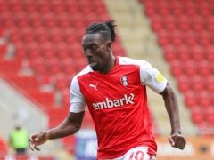 Freddie Ladapo was on target against Plymouth (Issac Parkin/PA)
