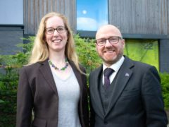 Scottish Green leaders Patrick Harvie and Lorna Slater have been in talks with the First Minister in recent months (Green Party/PA)