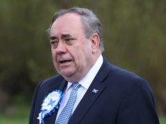 Alex Salmond now leads the Alba party (Andrew Milligan/PA)
