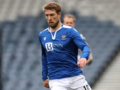David Wotherspoon is making a welcome return to St Johnstone's squad (Andrew Milligan/PA)