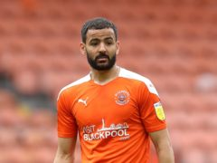 Kevin Stewart is expected to miss out for Blackpool (Martin Rickett/PA)