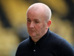 Livingston manager David Martindale is balancing fitness issues (Jane Barlow/PA)