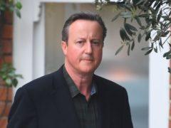 David Cameron(Victoria Jones/PA)
