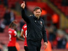 Ralph Hasenhuttl was delighted the way his Southampton side approached their record 8-0 away win at Newport (Dan Mullan/PA)