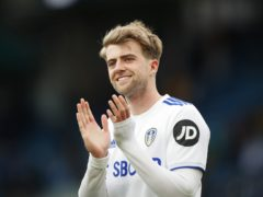Leeds' Patrick Bamford has received his first England call-up (Lynne Cameron/PA)