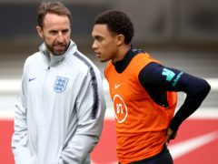 Gareth Southgate is expected to call up Trent Alexander-Arnold (Tim Goode/PA)
