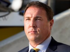Malky Mackay wants Ross County to stay calm against Rangers (Jeff Holmes/PA)