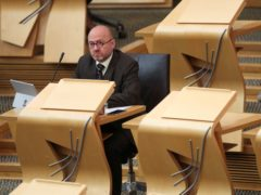 Scottish Green Party co-leader Patrick Harvie (Russell Cheyne/PA)