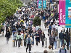 Retail premises were among the businesses that broke minimum wage laws (Jane Barlow/PA)
