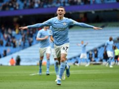 Phil Foden will miss the start of the Premier League through injury (Peter Powell/PA)