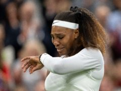 Serena Williams has pulled out of the US Open (Jed Leicester/AELTC Pool/PA)