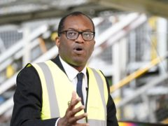Kwasi Kwarteng said officials who were home-working were making an important contribution (Peter Byrne/PA)