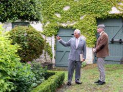 The Prince of Wales (left) with Poet Laureate Simon Armitage (Chris Jackson/PA)