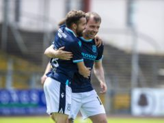 Paul McMullan's pace is a huge asset for Dundee (Ian Rutherford/PA)