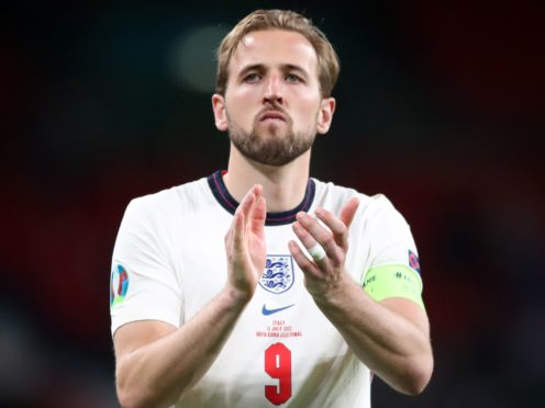 England captain Harry Kane captained the Three Lions in their Euro 2020 final defeat to Italy (Nick Potts/PA)