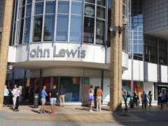 John Lewis started selling home insurance earlier this year (Steve Parsons/PA)