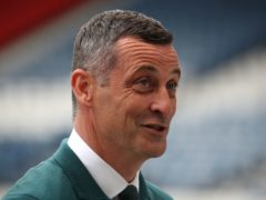 Jack Ross was enthused about Hibs' league opener (Andrew Milligan/PA)