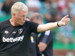 West Ham manager David Moyes led the club to sixth place in the Premier League last season (Jane Barlow/PA)