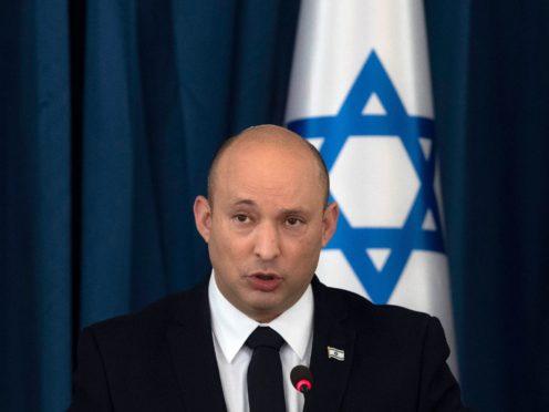 Israel's prime minister Naftali Bennett (Sebastian Scheiner/AP)