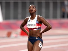 Dina Asher-Smith finished third in Paris (Mike Egerton/PA)