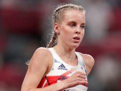 Keely Hodgkinson claimed silver in Tokyo (Joe Giddens/PA)