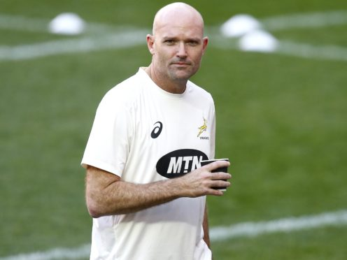 South Africa head coach Jacques Nienaber has made two enforced changes for the deciding Test against the British and Irish Lions (Steve Haag/PA)