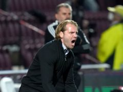 Robbie Neilson expects a different dynamic at Celtic Park (Jane Barlow/PA)