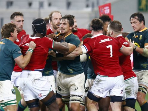 The Lions and South Africa meet for the third and final time on Saturday (Steve Haag/PA)