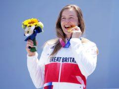 Charlotte Worthington won gold in the women's BMX freestyle (Mike Egerton/PA)