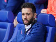 Carlos Corberan's Huddersfield are into the second round (Zac Goodwin/PA)