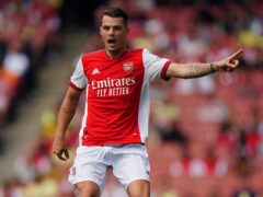 Arsenal midfielder Granit Xhaka looks set to remain at the club (Aaron Chown/PA)