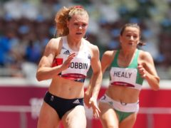 Great Britain's Beth Dobbin has been impressed with Dina Asher-Smith despite her injury. (Martin Rickett/PA)