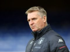 """Aston Villa manager Dean Smith insisted the club are """"over"""" Jack Grealish's departure after their lacklustre 3-2 defeat at Watford (Naomi Baker/PA)"""
