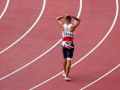 Great Britain's Adam Gemili suffered a last-minute hamstring injury in Tokyo. (Martin Rickett/PA)