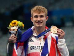 Jack Laugher won bronze in Tokyo (Martin Rickett/PA)
