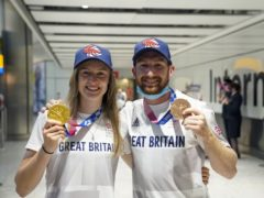 Charlotte Worthington and Declan Brooks are hoping BMX freestyle can capitalise on their success (Steve Parsons/PA)
