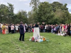 Murdered sisters Bibaa Henry and Nicole Smallman were remembered at the vigil (Elmira Tanatarova/PA)